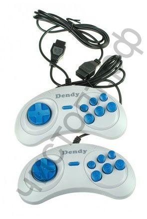 Джойстик 8-bit Sega 9p (серый)