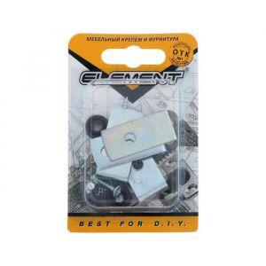 Крепление для зеркала, белый цинк,1 шт. 5132941