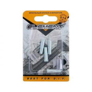 Стеклодержатель d=5  мм, с присоской, прозрачный, 4 шт. 5132990