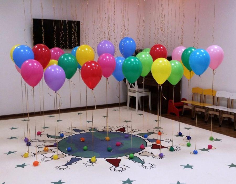 Ассорти из воздушных шаров с гелием 30 шт