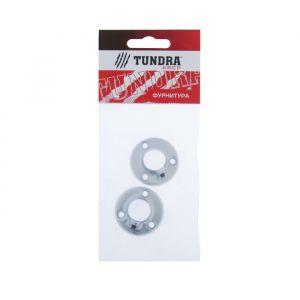 Штангодержатель TUNDRA krep, d=16 мм, стальной, цвет хром, 2 шт.   4185884