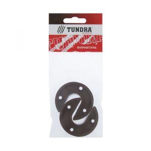 Штангодержатель накладной TUNDRA krep, коричневый, 2 шт.   4185887