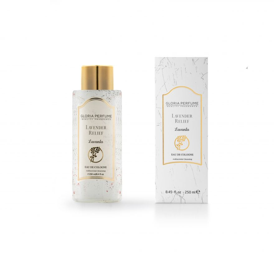 Антисептик Gloria Perfume Lavander Relief 250мл