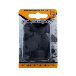 Заглушки на эксцентрик, цвет черный, 40 шт. 5180670