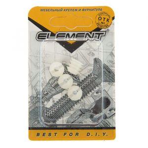 Дюбель мебельный Element, М6 мм, пластиковый, на блистере 4 шт.   2332973