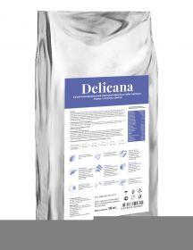 Delicana Сухой корм для собак крупных пород, лосось с рисом. 20кг