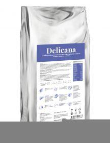 Delicana Сухой корм для собак средних пород, лосось с рисом. 20кг