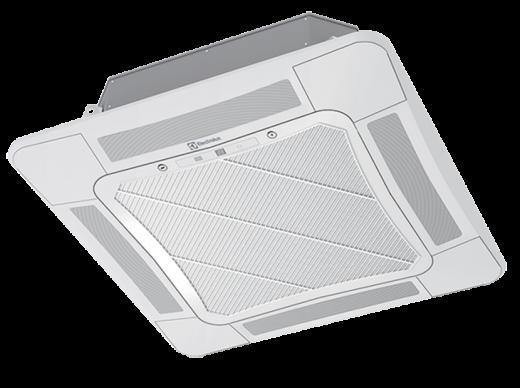 Сплит-система кассетная Electrolux EACС-18H/UP2/N3_LAK