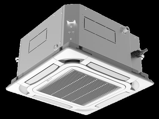 Комплект ELECTROLUX EACC-12H/UP3-DC/N8 инверторной сплит-системы, кассетного типа
