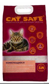 Cat safe наполнитель комкующийся 5л