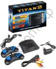 Игровая приставка Sega Магистр Titan 2 , 2дж. , встр. 400 игр (200ден +200сег)  слот SD карты для игр и воспр. МР3 и jpeg (фото) Сега