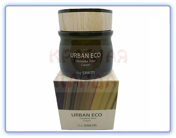 Крем для лица увлажняющий The Saem Root Cream Urban Eco Harakeke