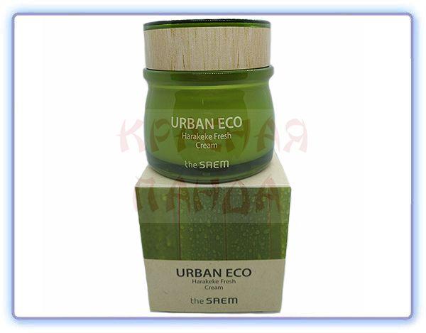 Крем для лица освежающий The Saem Urban Eco Harakeke Fresh Cream