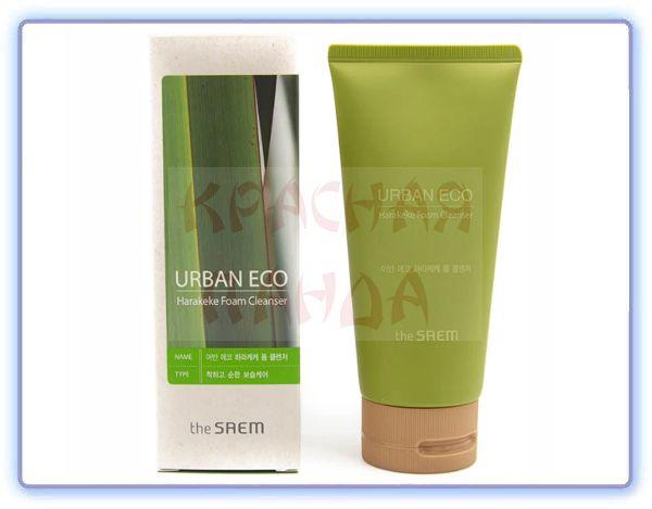 Увлажняющая пенка для умывания The Saem Urban Eco Harakeke Foam Cleanser