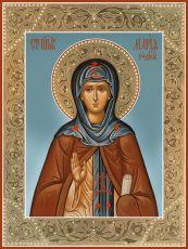 Икона Мария Радонежская преподобная