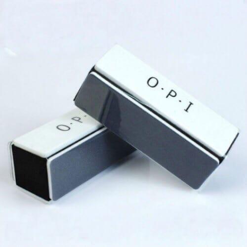 Баф O.P.I. 4-х сторонний шлифовочный Чёрно-белый