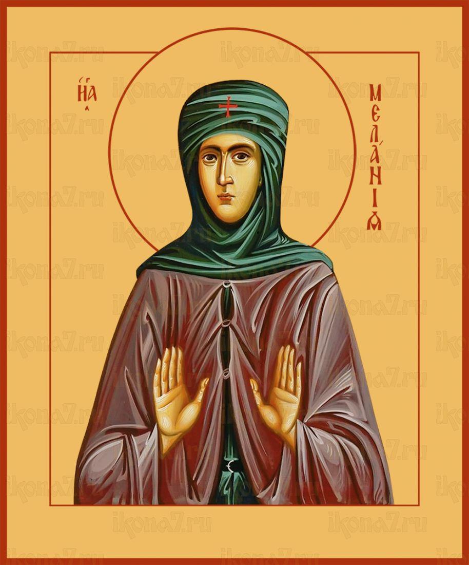 Икона Мелания Римляныня преподобная