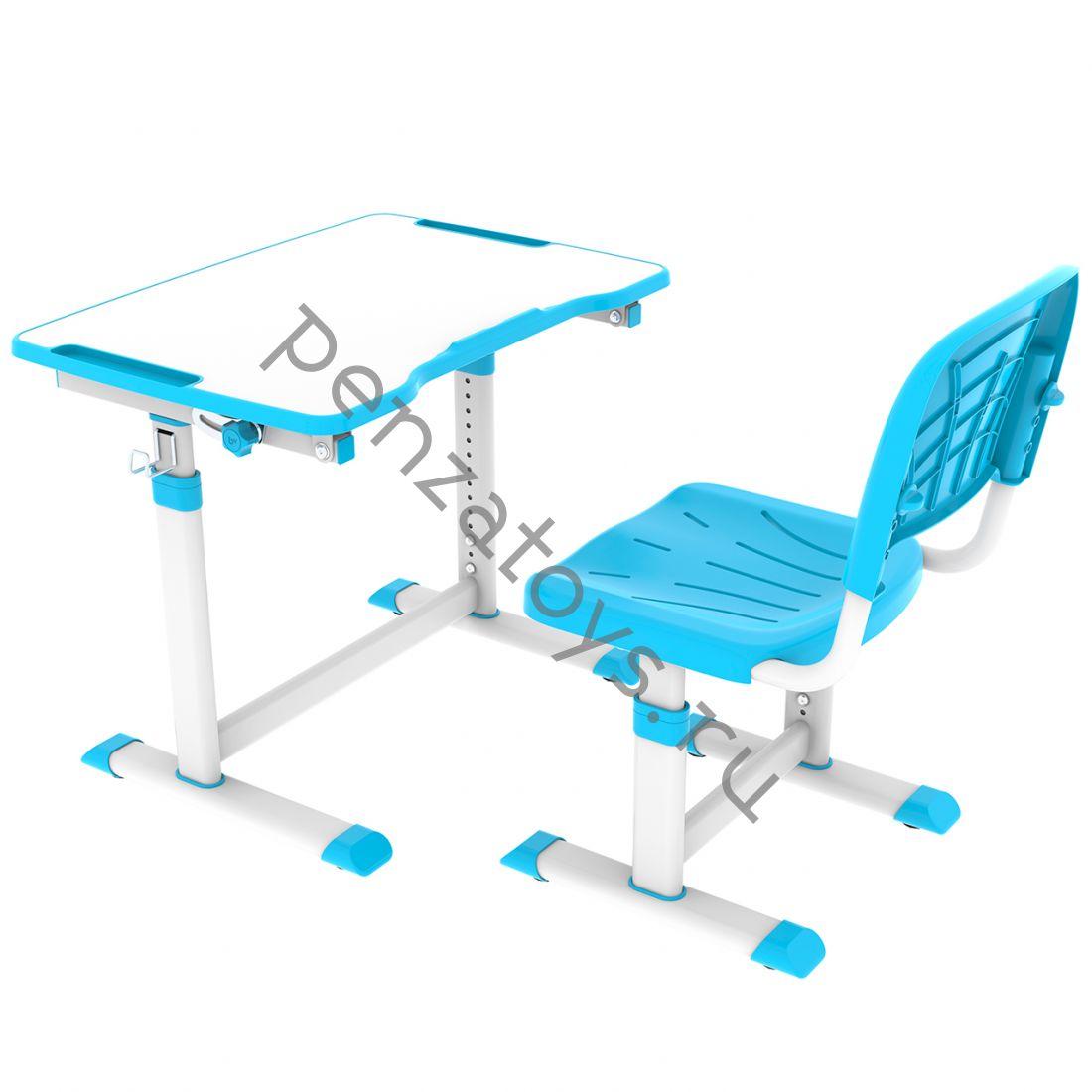 Растущие парта+стул Cubby Olea
