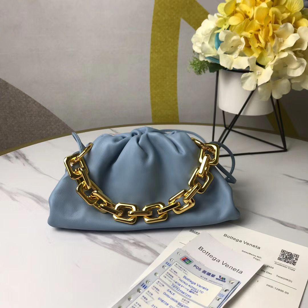 Bottega Veneta Chain Pouch 22 cm