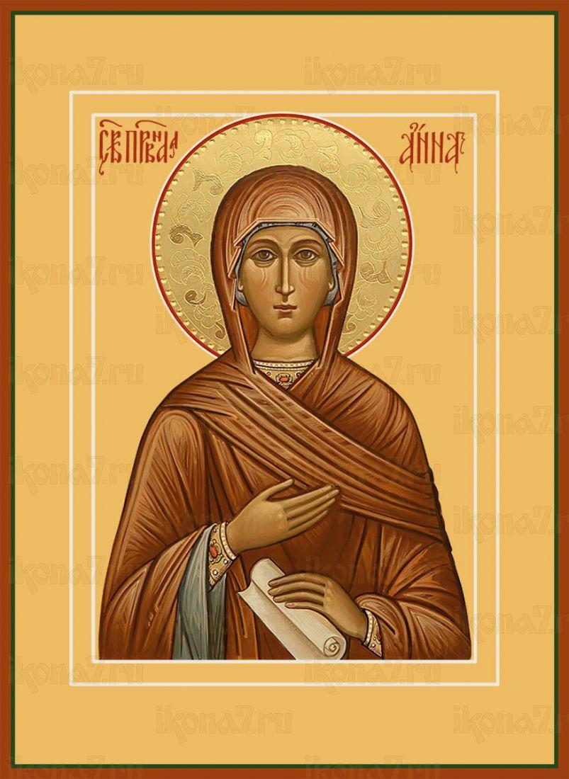 Икона Анна мать Пресвятой Богородицы