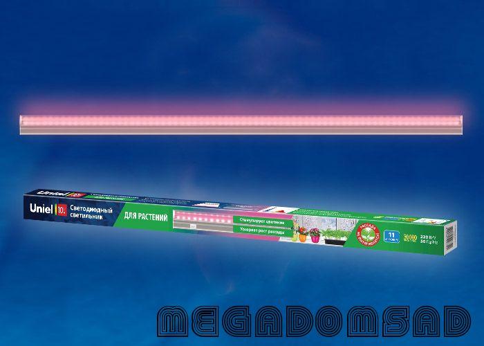 ULI-P20-10W/SPSB IP40 WHITE Светильник для растений светодиодный линейный, 550мм, выкл. на корпусе.