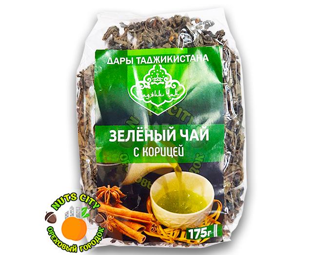Зеленый чай с корицей 175гр