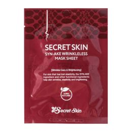 SECRET SKIN Syn-Ake Wrinkleless Mask Sheet тканевая маска с змеиным пептид ОРИГИНАЛ