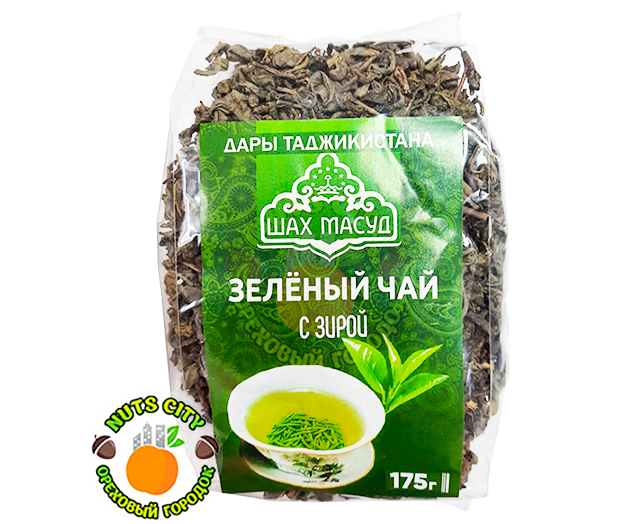 Зеленый чай с зирой 175гр
