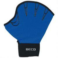 Перчатки для аквааэробики без пальцев  BECO  (НЕОПРЕН+ЛАЙКРА),размер L, (пара), 9634