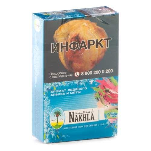 Табак Nakhla New - Ледяной Арбуз и Мята (Ice Watermelon and Mint, 50 грамм)