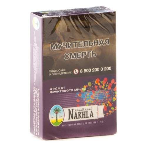 Табак Nakhla New - Фруктовый Микс (Mixed Fruits, 50 грамм)