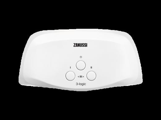 Водонагреватель проточный Zanussi 3-logic 3,5 T (кран)