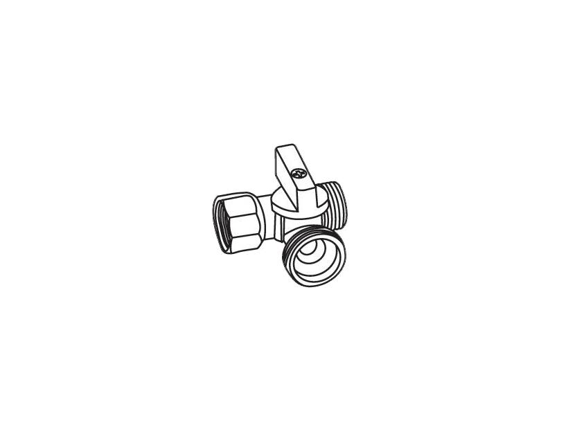 Кран Royal Thermo EXPERT для стиральной машины