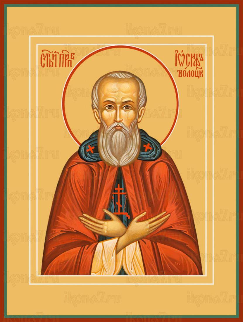 Икона Иосиф Волоцкий преподобный