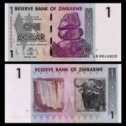 ЗИМБАБВЕ - 1 доллар 2007 UNC ПРЕСС
