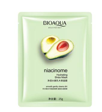 Тканевая экспресс-маска с экстрактом авокадо «BIOAQUA» (45824)