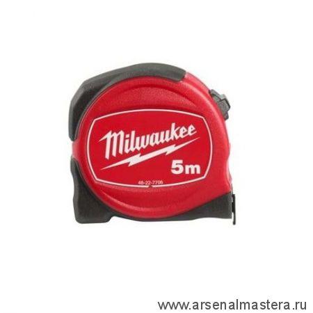 Рулетка 5 м Coмpact S5 / 19 класс точности 2 MILWAUKEE 48227705