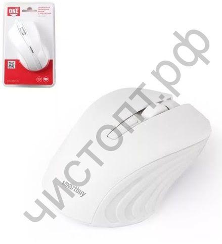 Мышь беспроводн. Smartbuy ONE 352 белая (SBM-352AG-W)