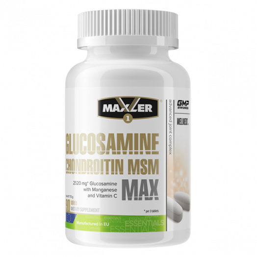 Maxler Glucosamine-Chondroitin-MSM MAX 90 таб