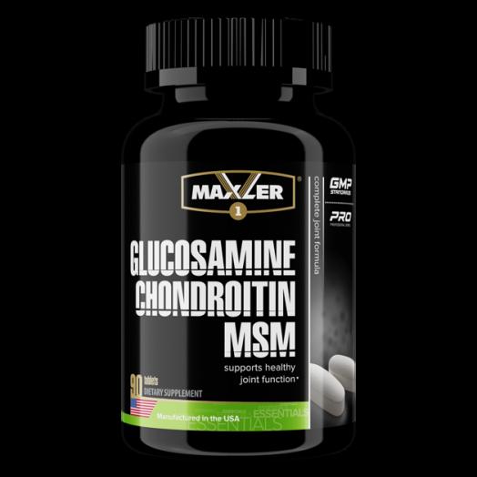 Maxler Glucosamine Chondroitin MSM 90 таб