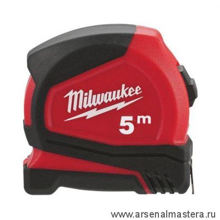 Рулетка 5 м / 25 мм компактная C5 / 25 Pro MILWAUKEE 4932459593
