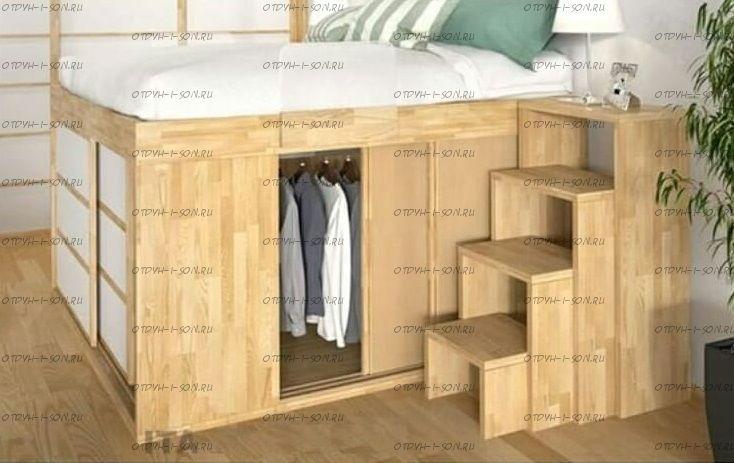 Кровать чердак Фокси №26