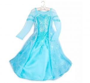 Костюм Эльзы Люкс - Elsa Frozen Дисней