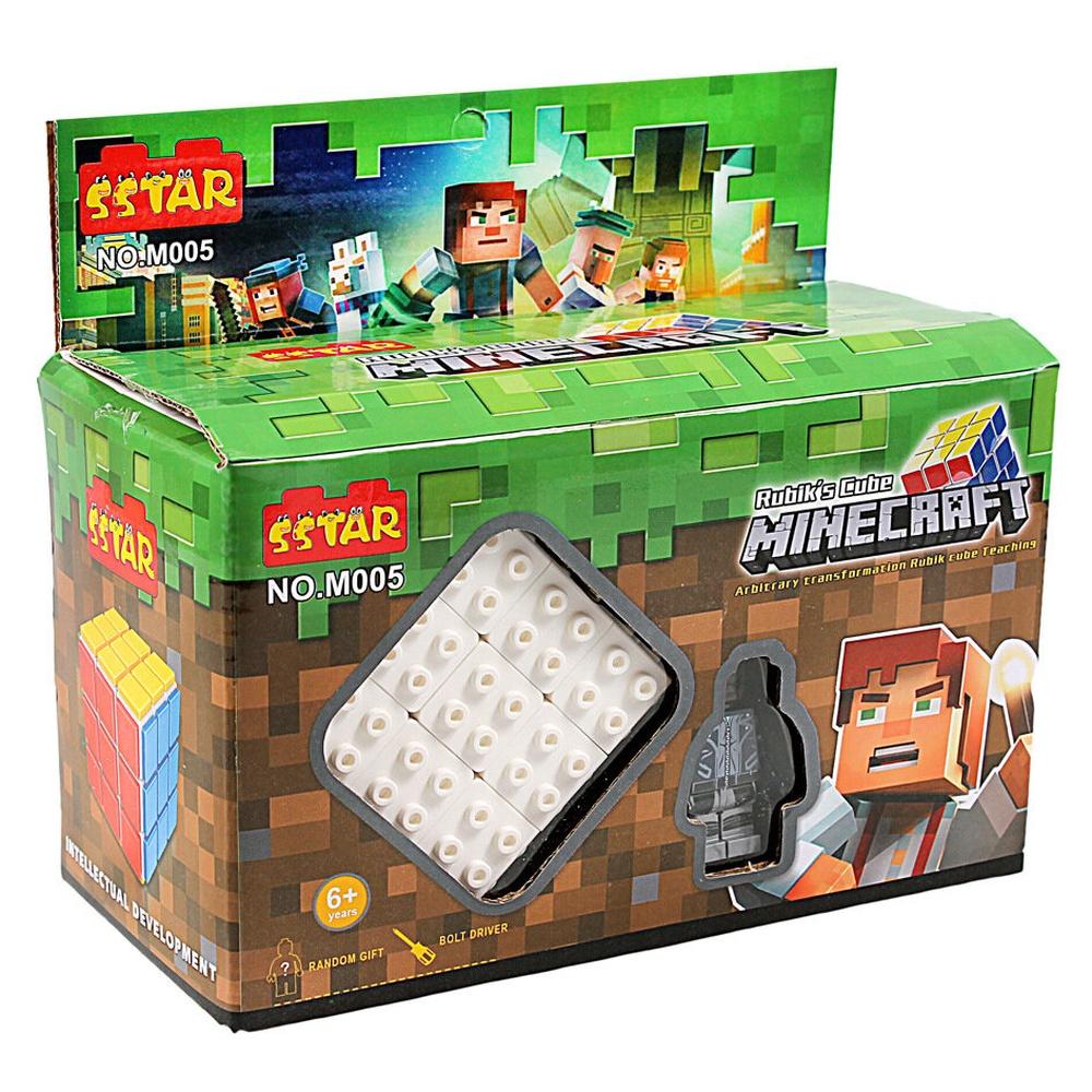 Кубик Рубик Майнкрафт
