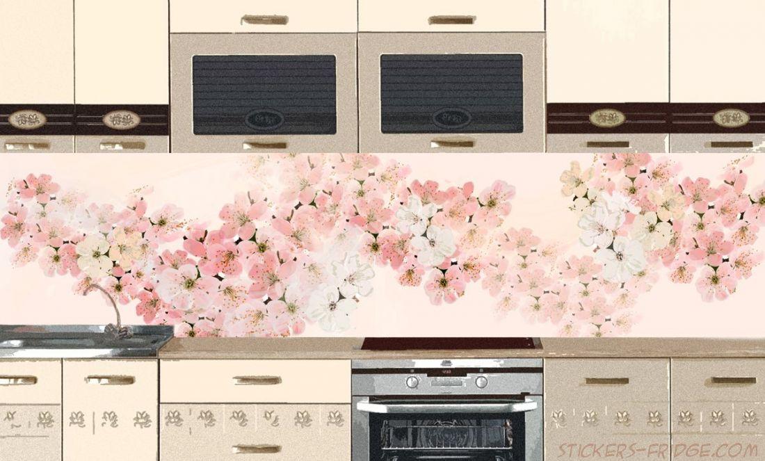 Фартук для кухни - Вуаль весны