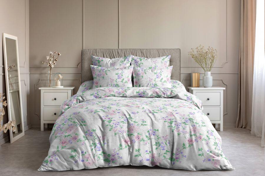 Поплин 1.5 спальный [в ассортименте] Сантана постельное белье