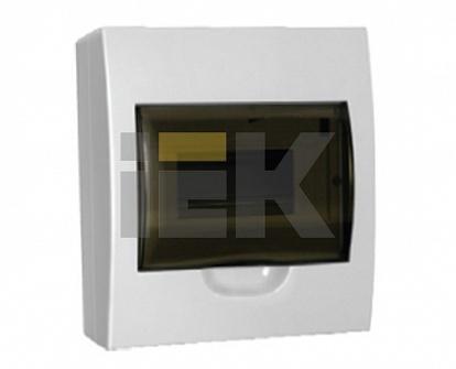 IEK Бокс ЩРН-П-8модулей навесной пластик IP40