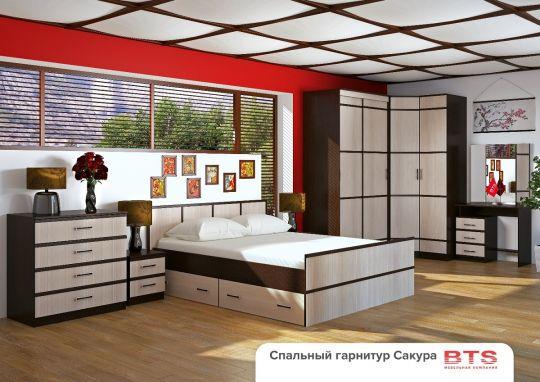 Спальня Сакура (Вариант 1)