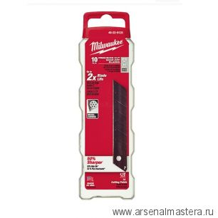 Лезвия 25 мм сменные сегментированные в комплекте 10 шт  MILWAUKEE 48229125