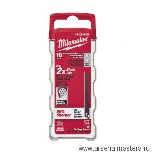 Лезвия 9 мм запасное в комплекте 10 шт  MILWAUKEE 48229109